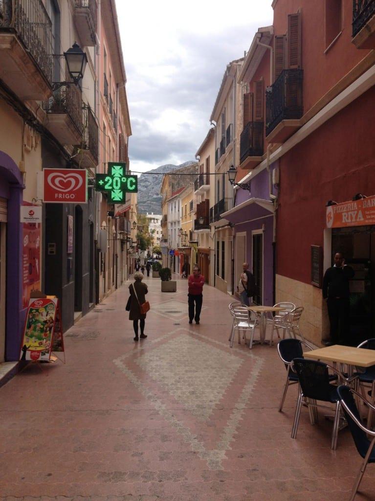 Denia Town centre