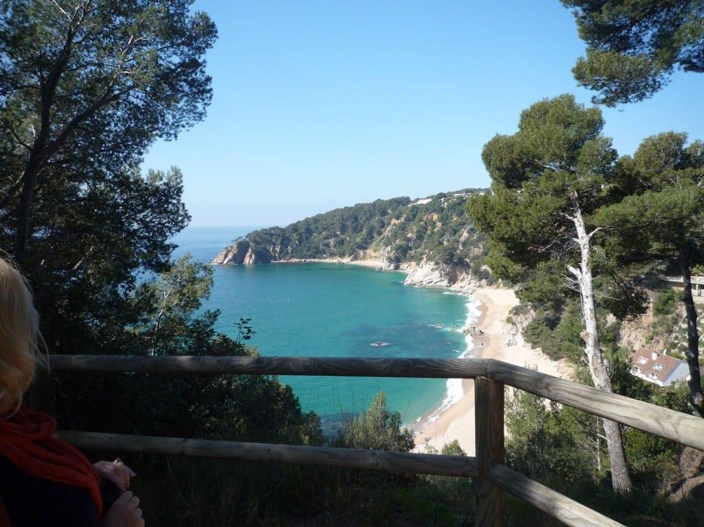 Campsite at Tossa De Mar click for larger image