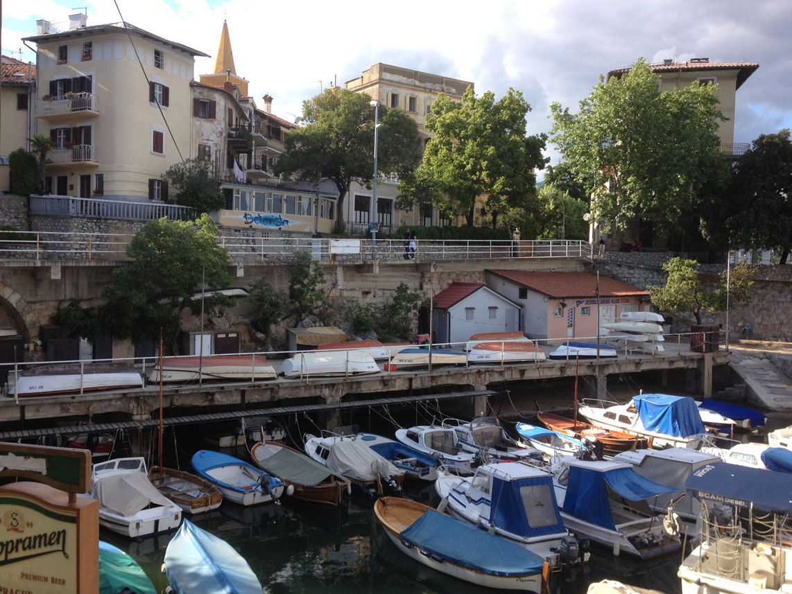 Lovran Croatia  city pictures gallery : Novigrad and Lovran, Croatia Round About Europe in a MotorhomeRound ...