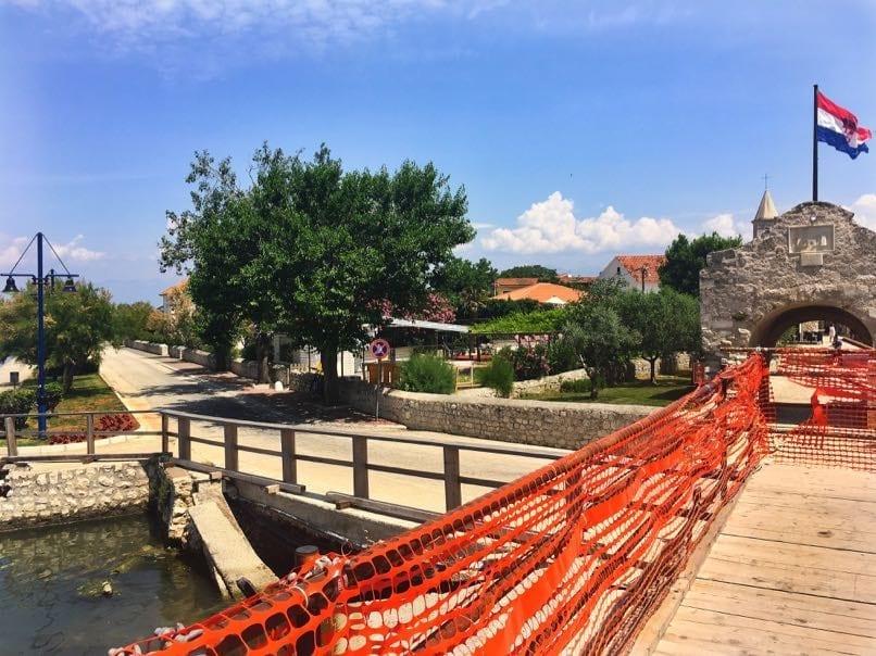 Nin Bridge damaged in floods