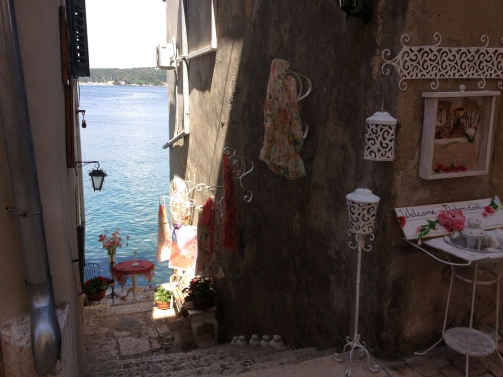 Shops in Rovinj