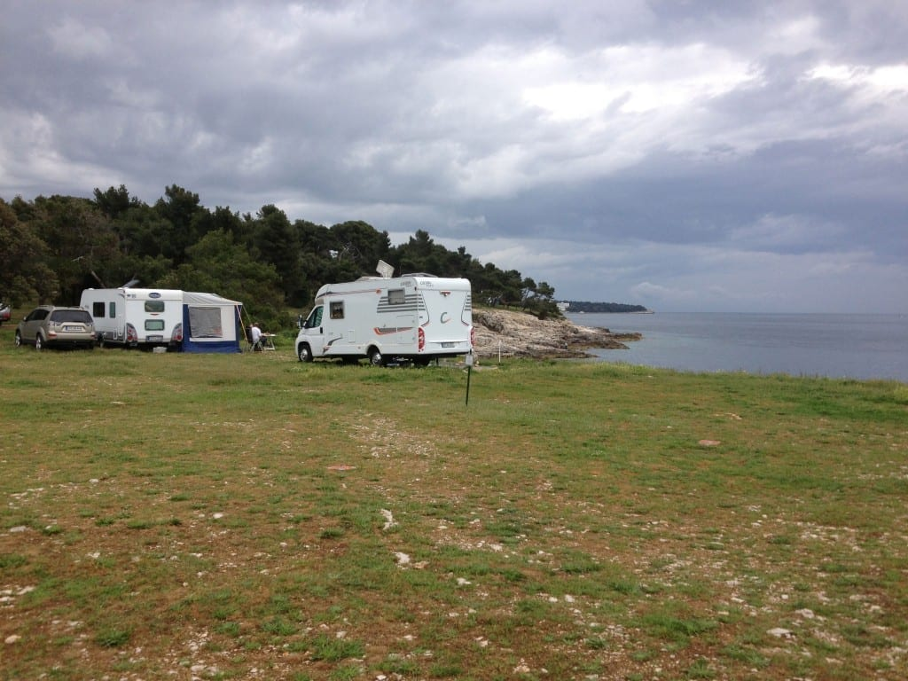 Views of the campsite at Camping Stoja, Istria