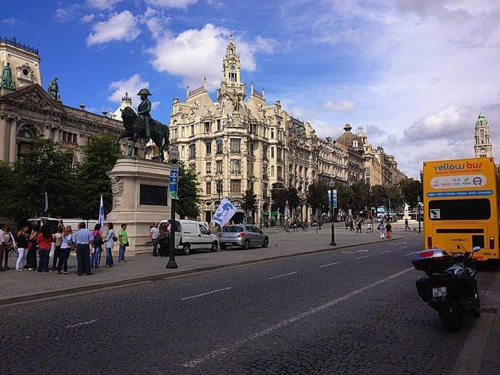 Porto main city centre
