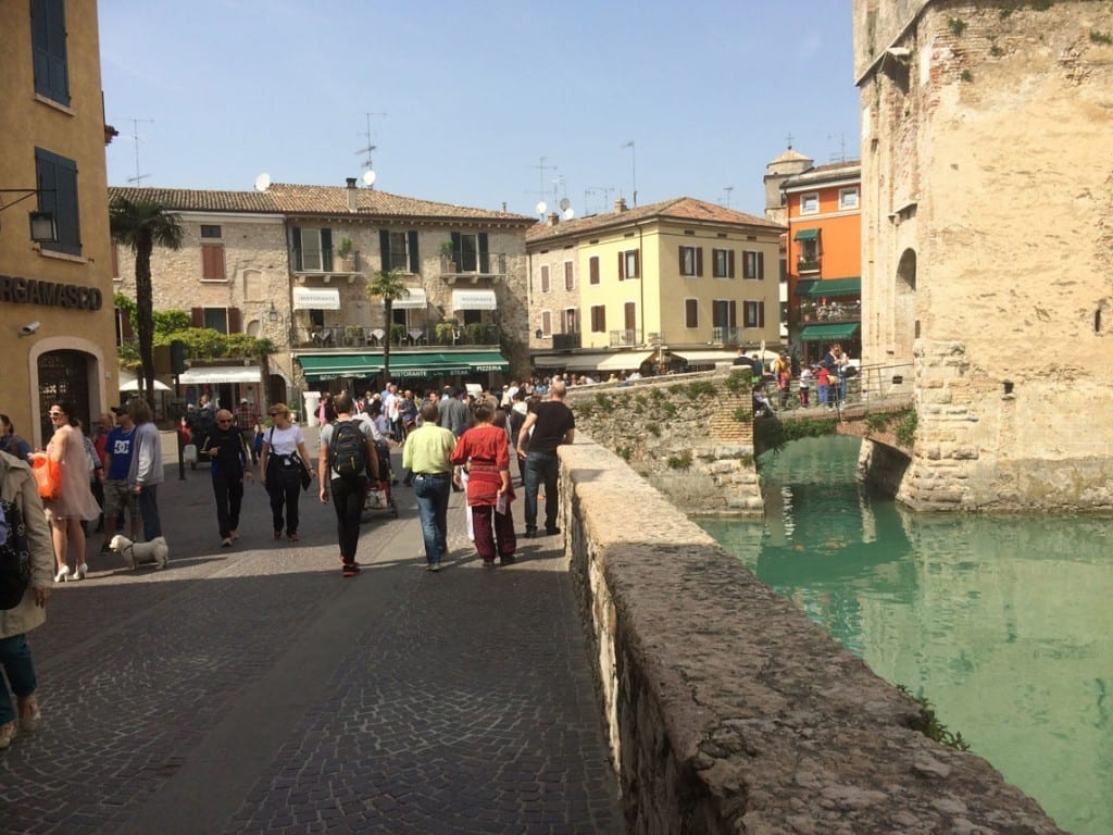Entrance to Sirmione Town