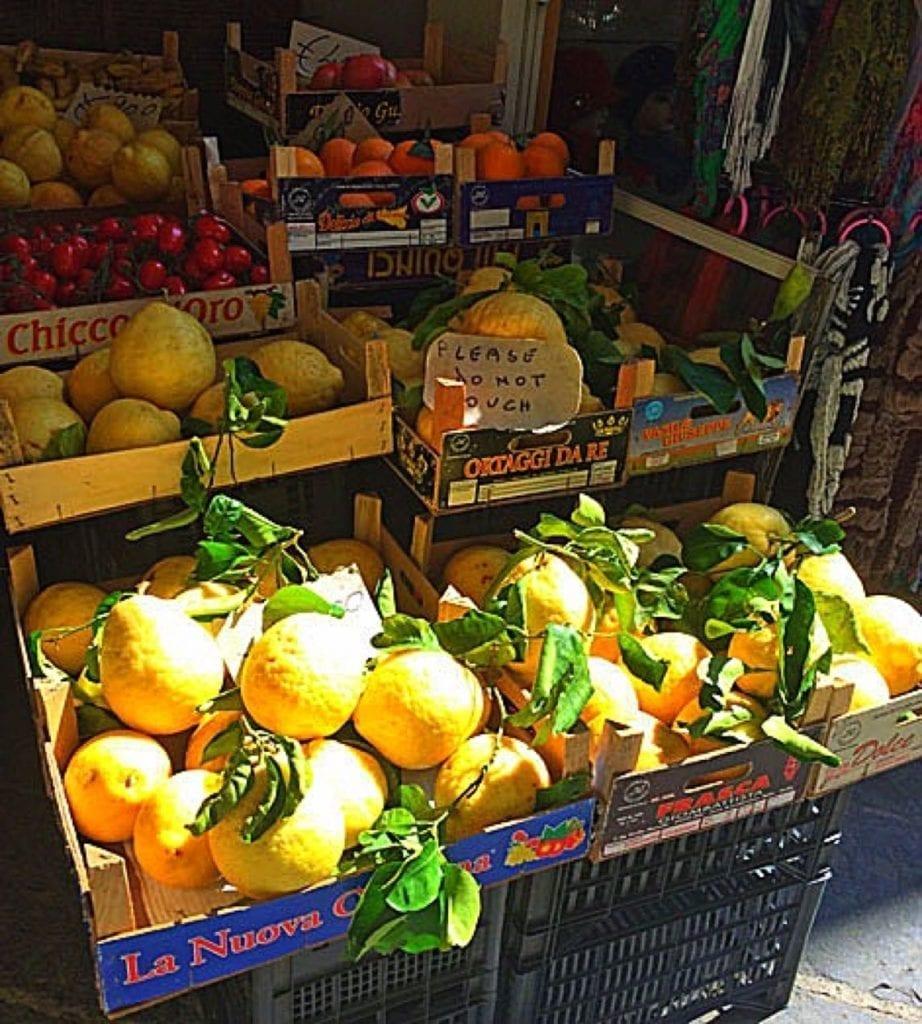 Lemons in Sorrento