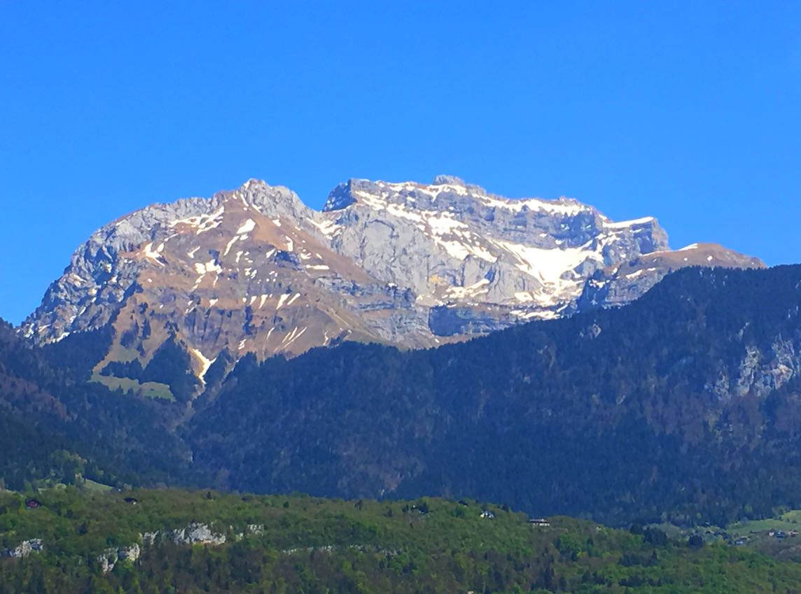 Lake Annecy Mountains