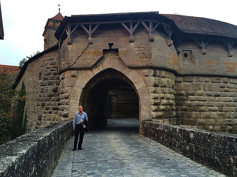 Rothenburg City Wall