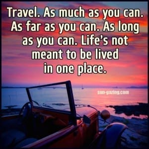 travel motivational