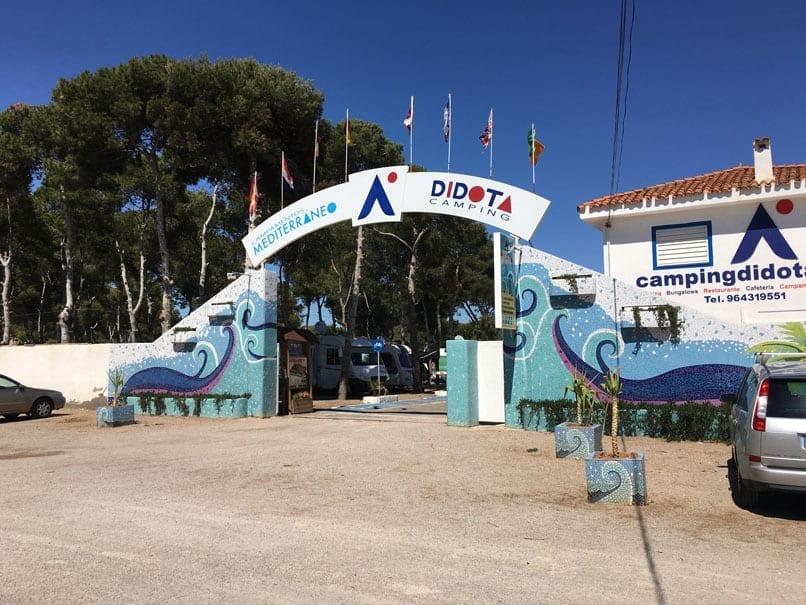 Didtoa campsite, Marina d'or