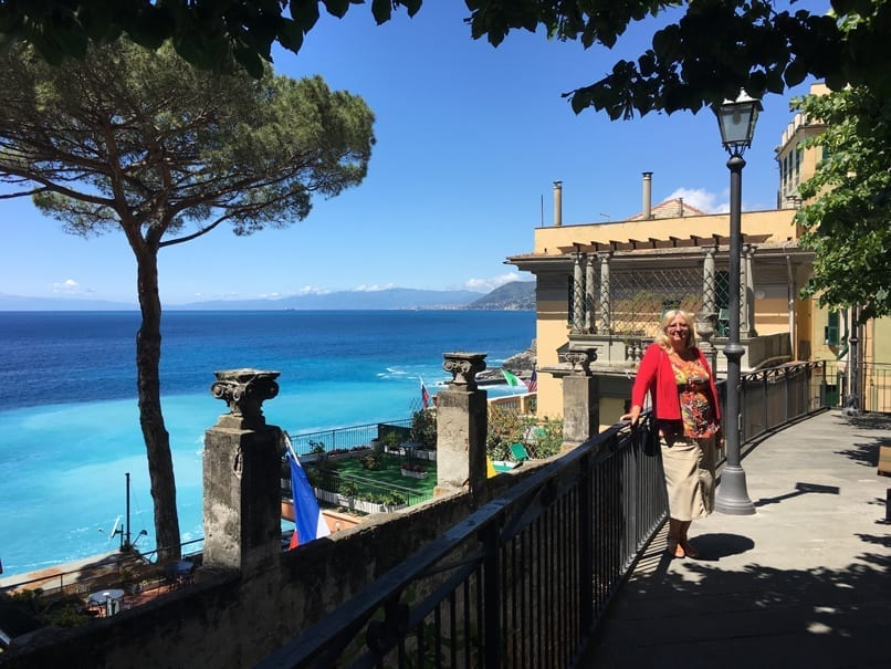 Camogli from the Station
