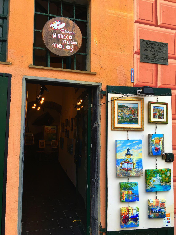 Shop in Camogli