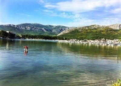 Outside the campsite, Stobrec, Split