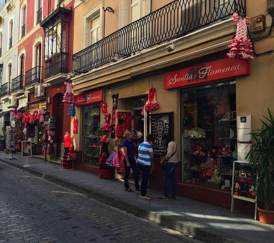 Seville shops