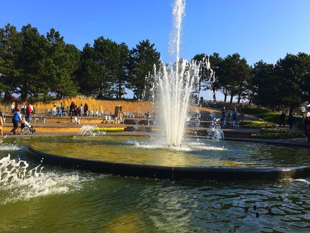 Water fountain, Keukenhoff