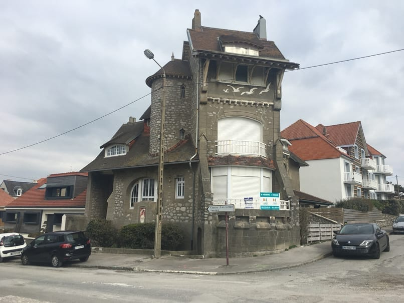 Seagull-house in Wimereux