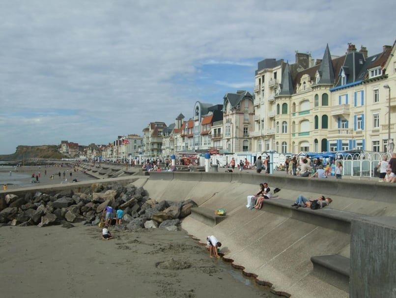 The promenade at Wimereux