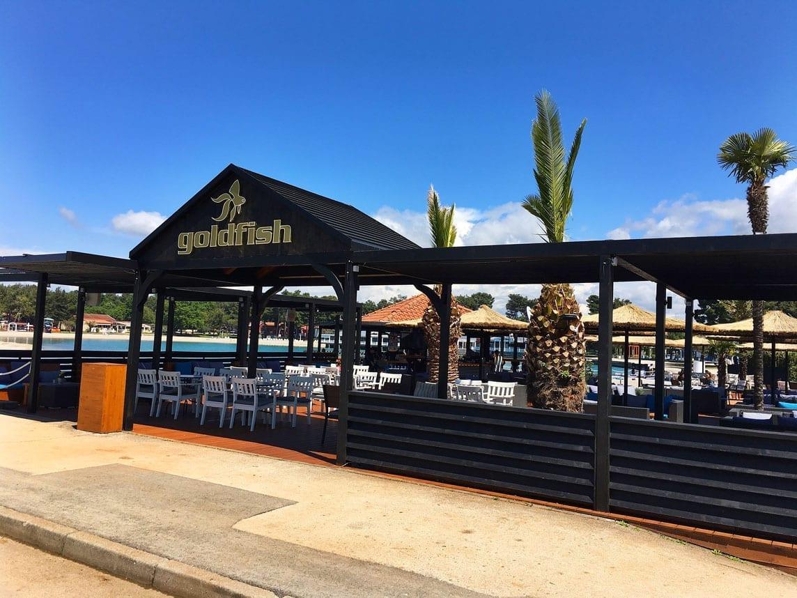 Goldfish Bar, Umag