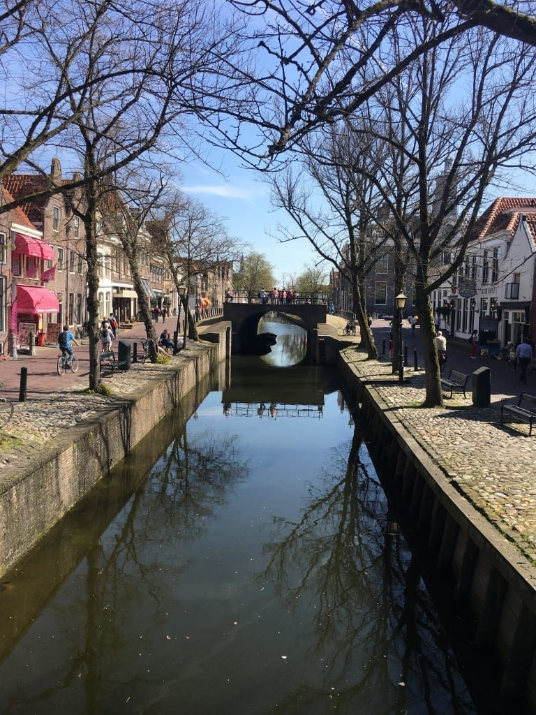 Canal at Edam