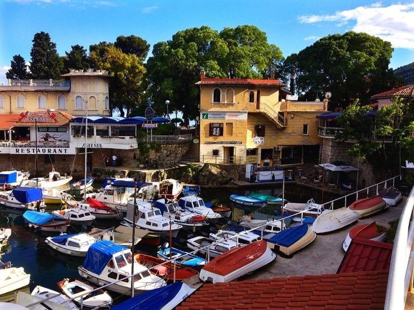 Lovran Marina, Croatia