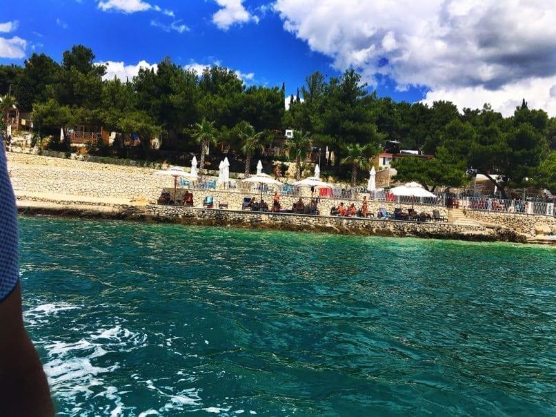 Belvedere resort from Boat, Trogir
