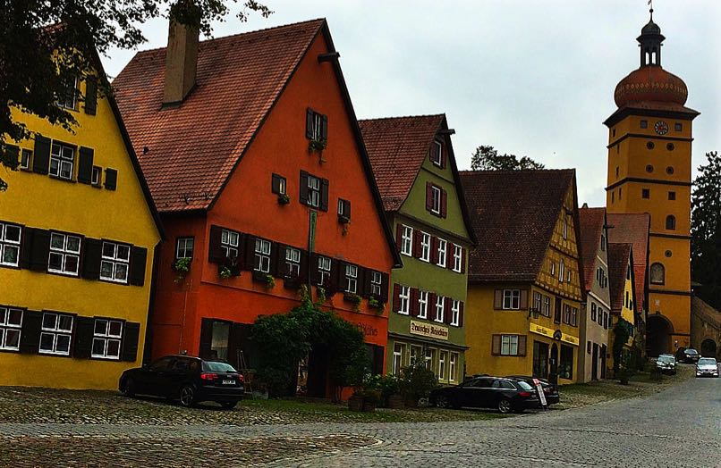 Dinkelsbuhl High Street
