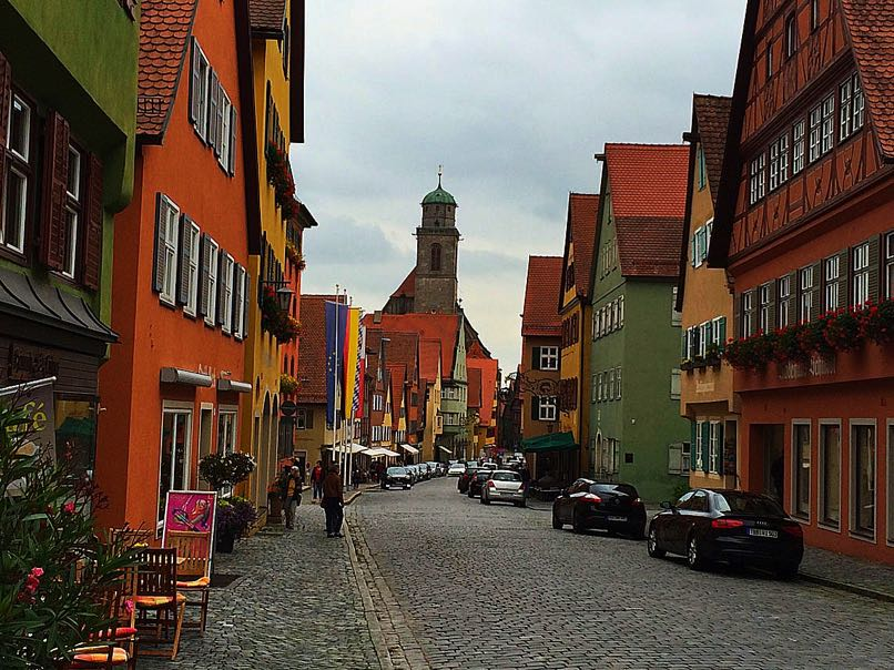 Dinkelsbuhl, Nordlingen, Donauworth – Romantic Road