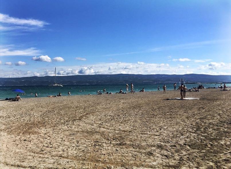 Omis Town Beach