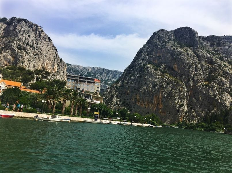 Omis from the river boat