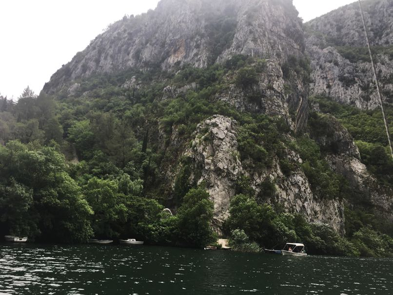 Picture taken on Centina river, Omis