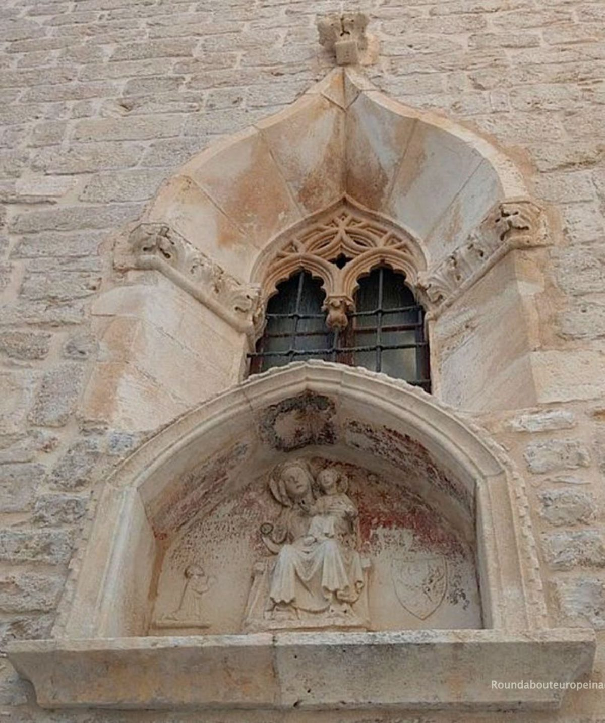 St James Cathedral wall plaque, Sibenik