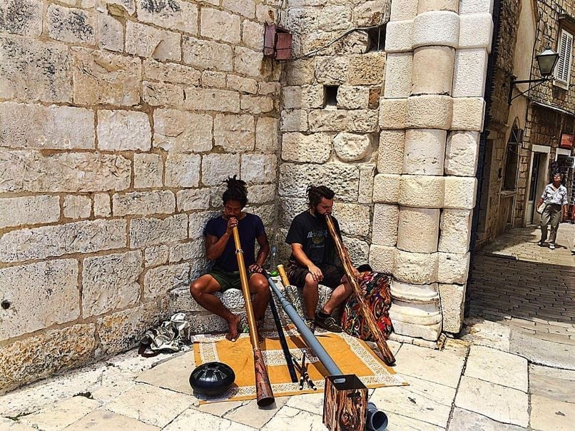 Trogir Pipe Players