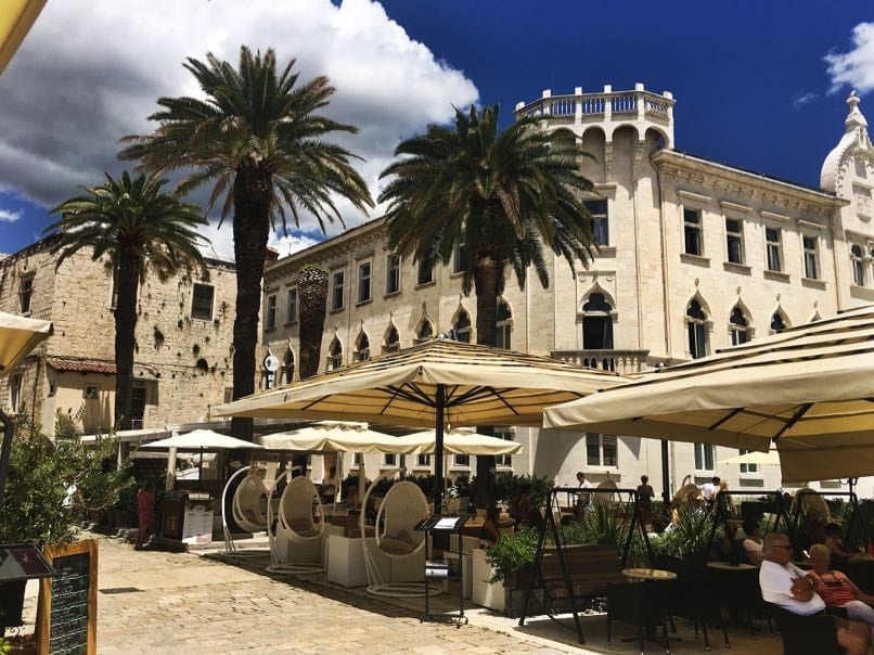 Trogir Waterfront Restaurants