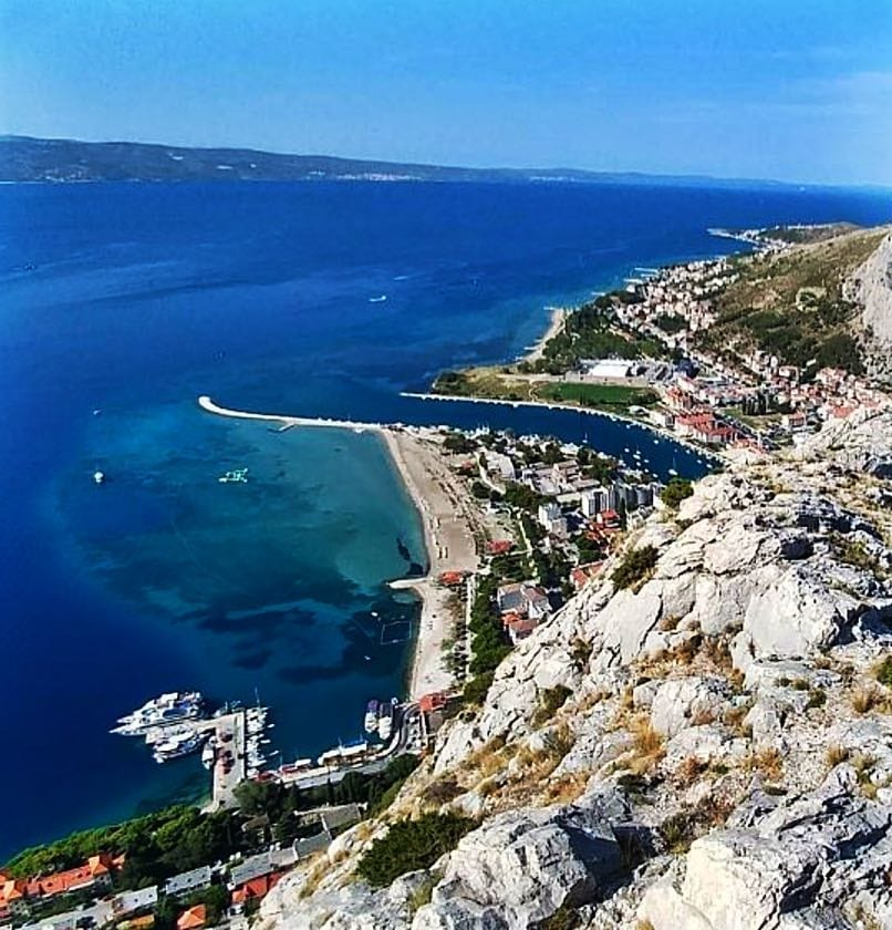 View of Omis