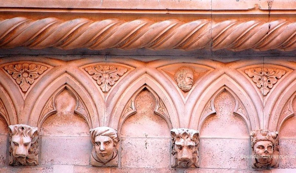 Faces on St James Cathedral