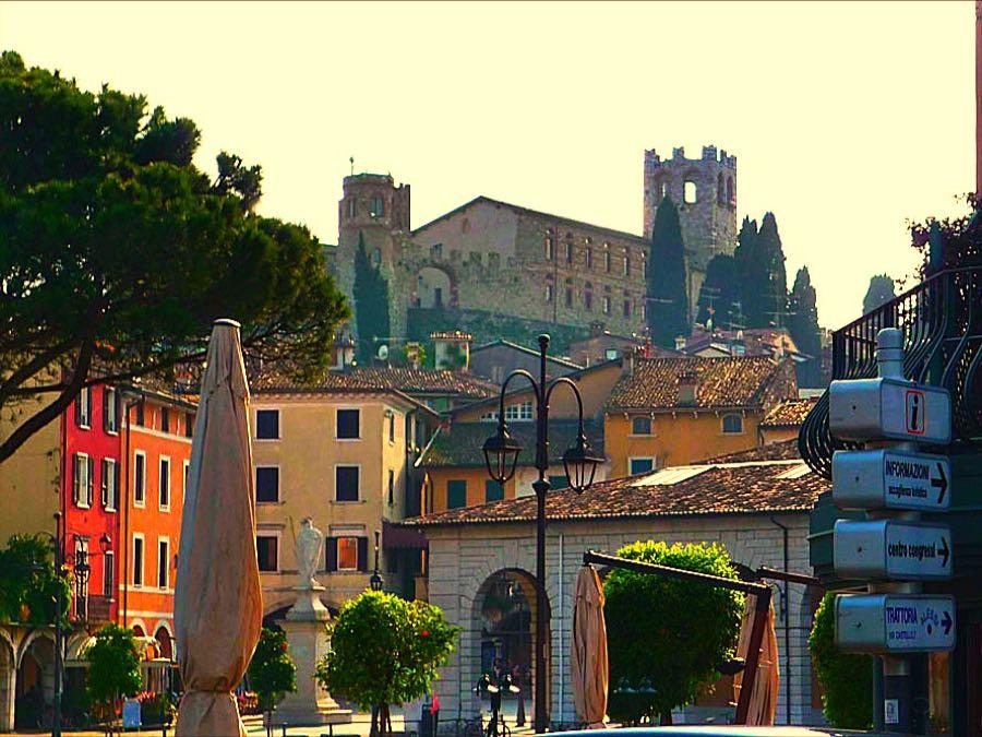 Desenzano castle on the hill