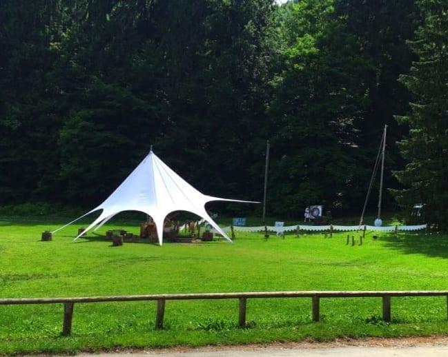 Archery at Lake Bled