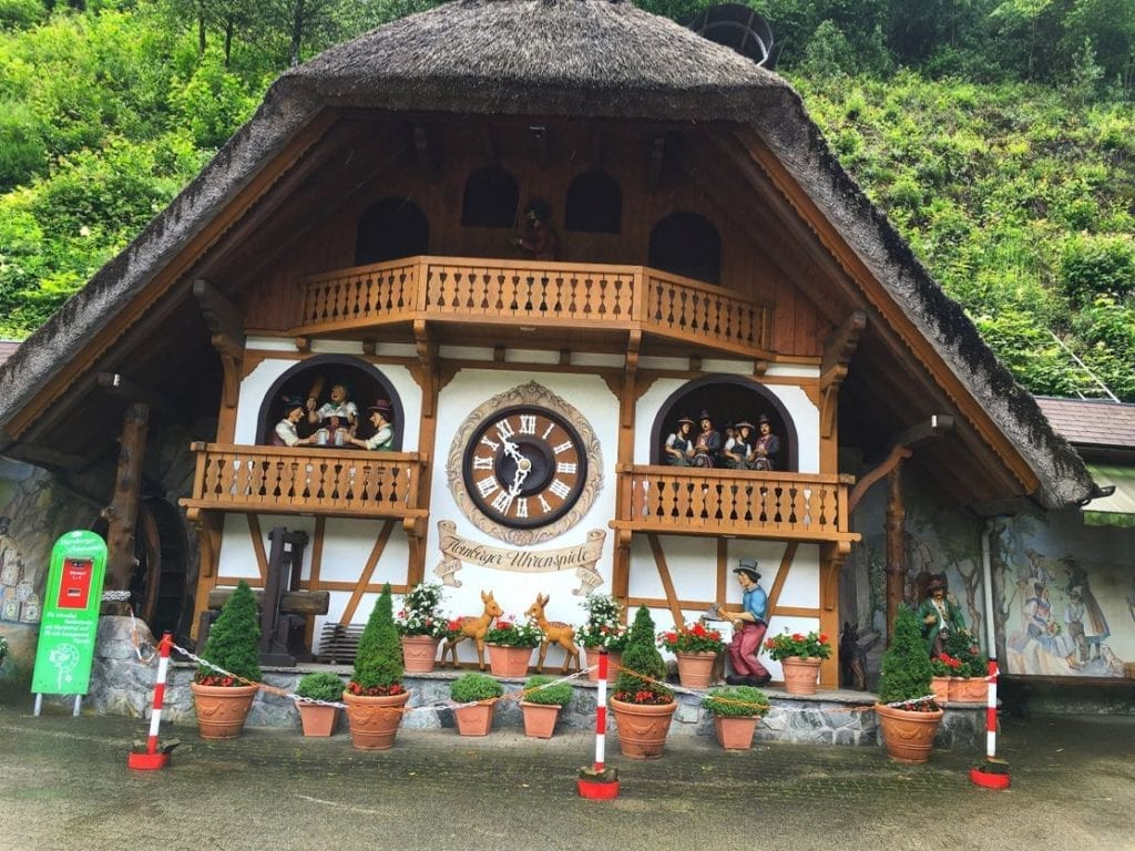Clock in Schonachbach, Germany