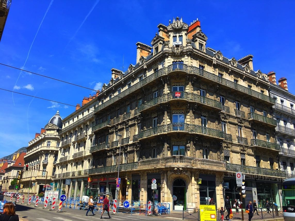 Facade of Grenoble building
