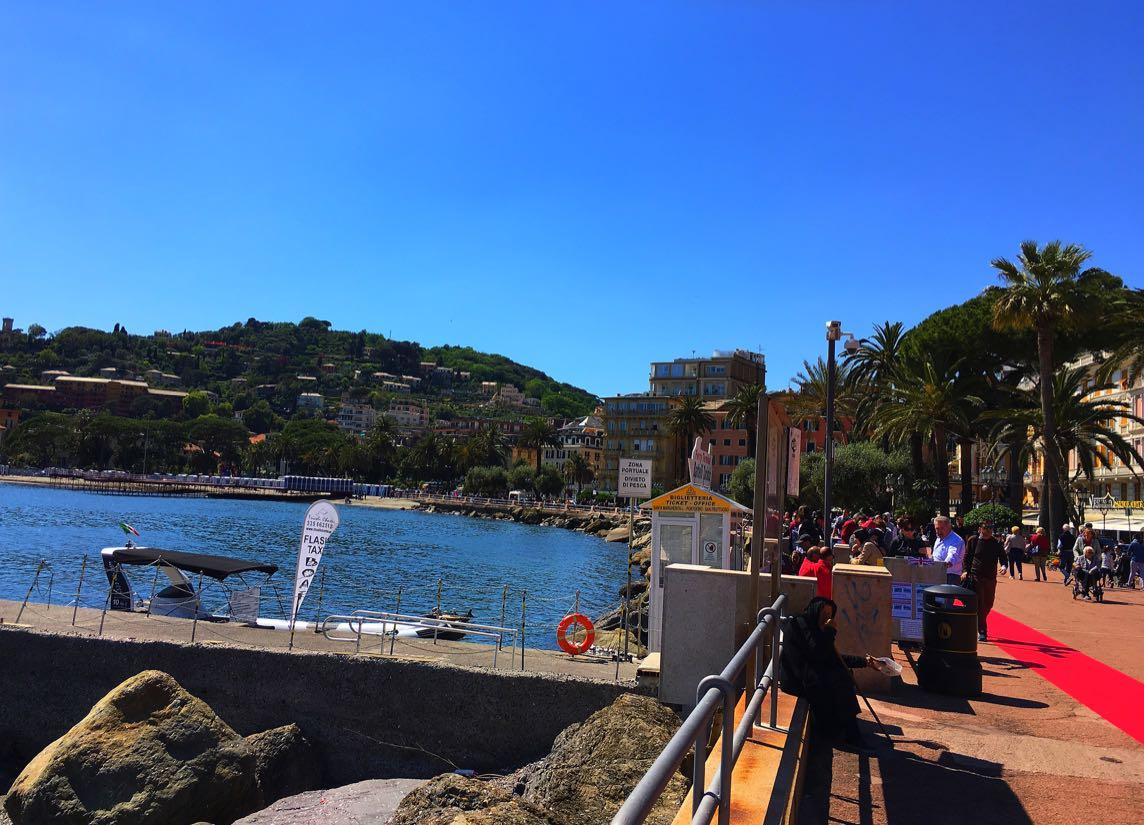 Rapallo sea front