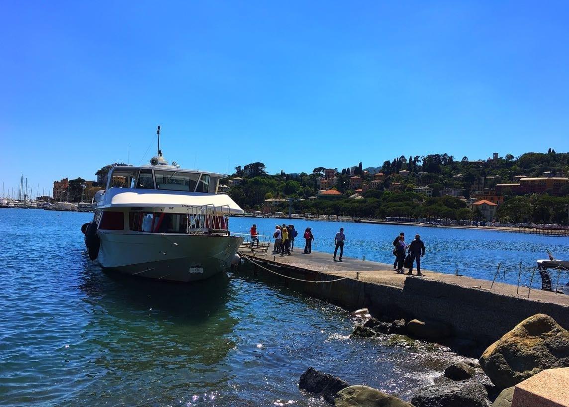 Rapallo tourist boat