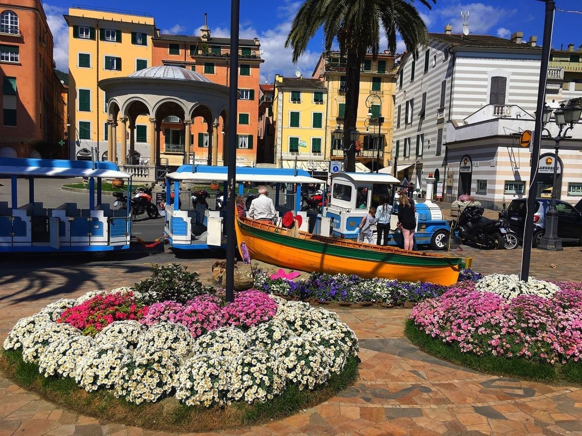 Rapallo tourist train