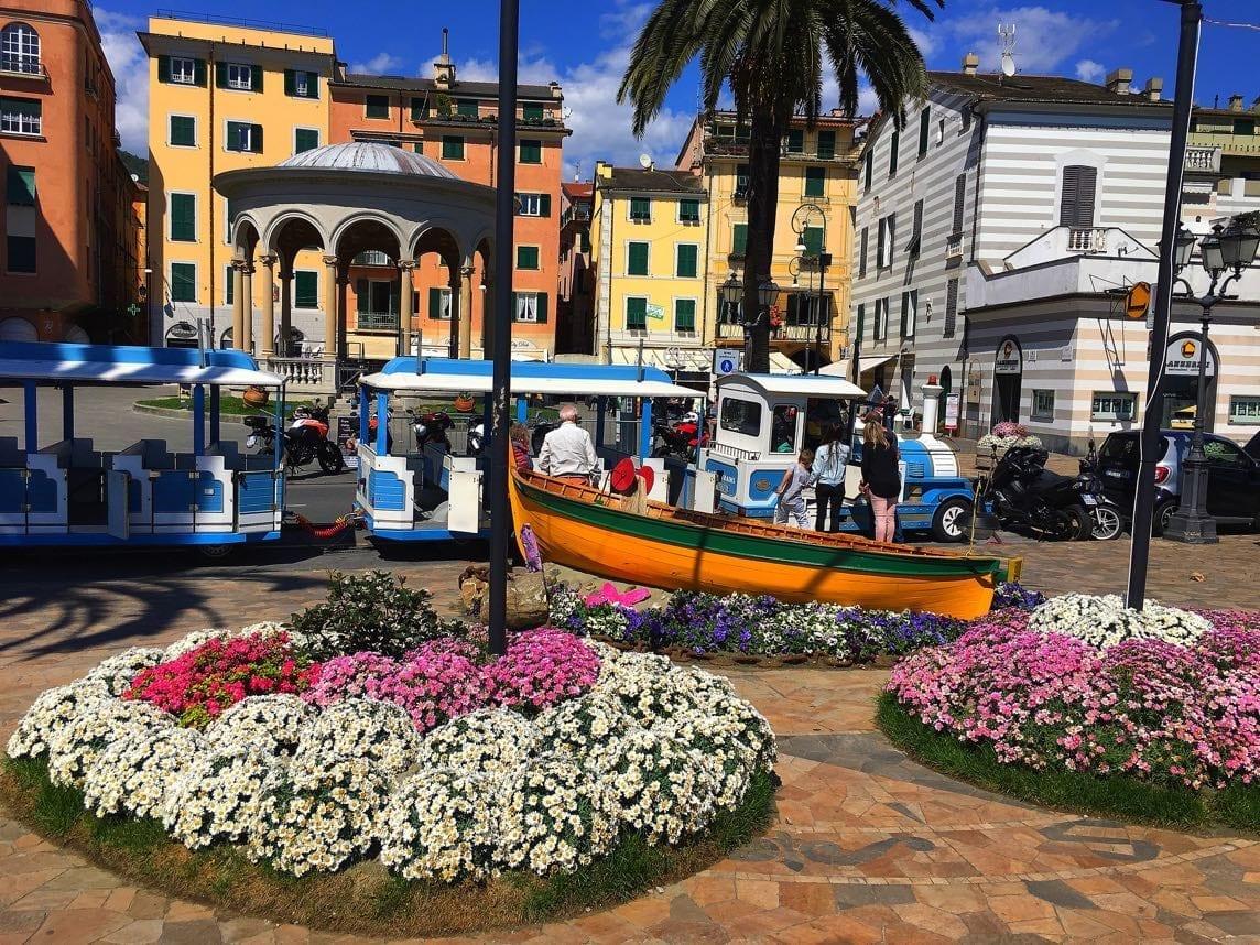Rapallo tourist train