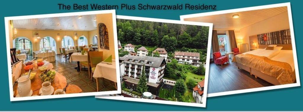 The Best Western Plus Schwarzwald Residenz, Triberg