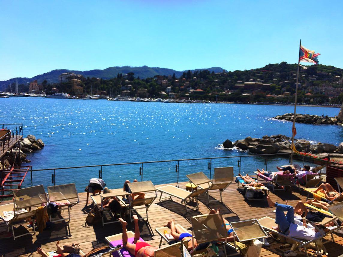 Sun decks in Rapallo