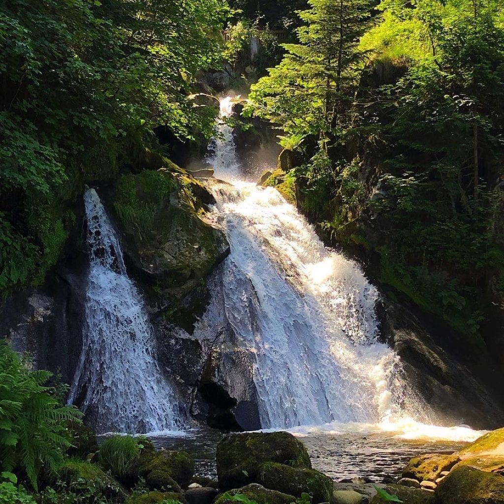 Triberg water falls, Black Forest