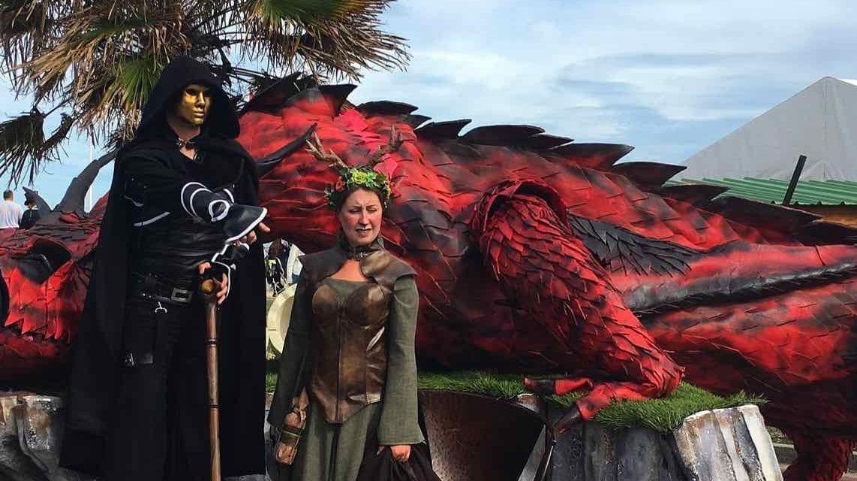 Cider & Dragon Festival, Merville-Franceville-Plage