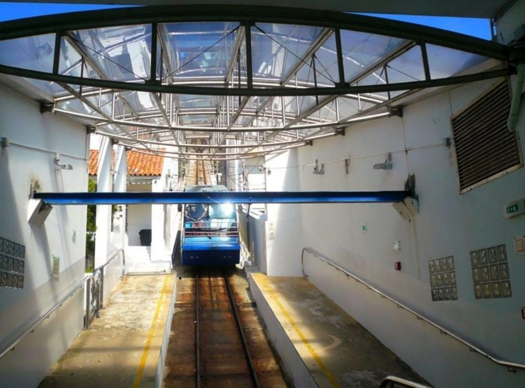 Funicular railway, Nazare