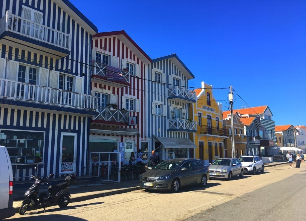 Houses in Costa Nova Portugal