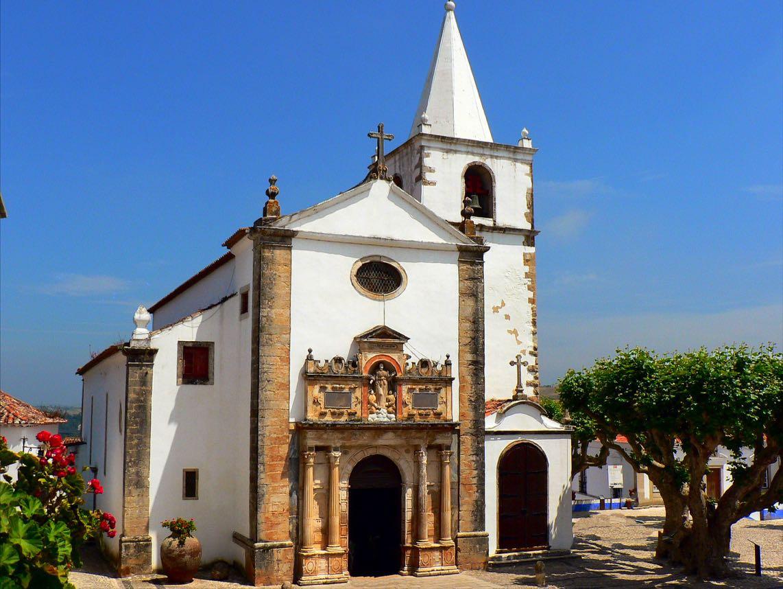 Obidos-Igreja-de-Santa-Maria