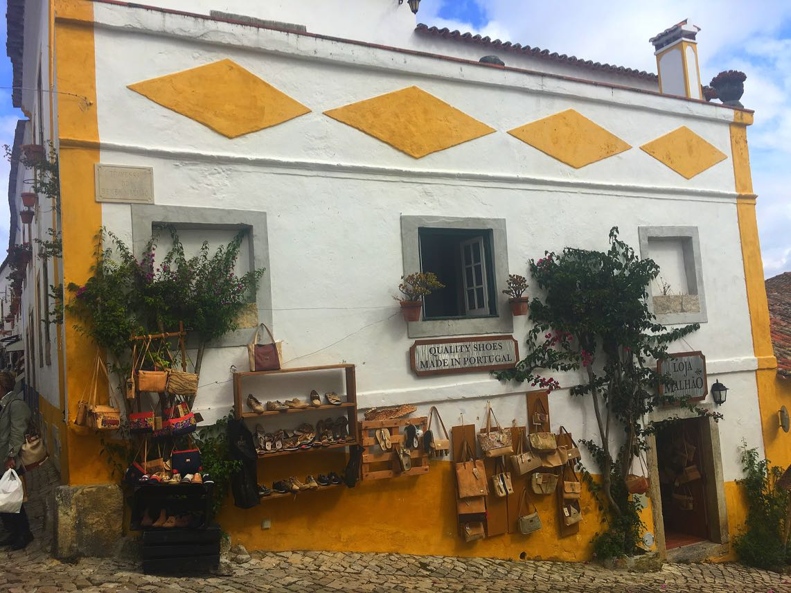Obidos Portugal shop